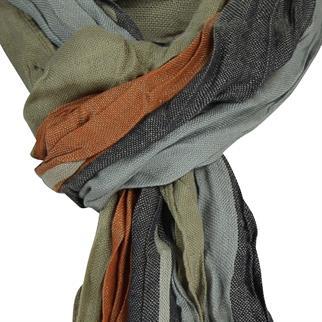 Smit Mode sjaals PINS10003B in het Oranje