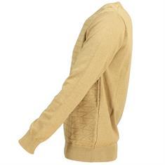 Smit Mode v-hals trui 82-8106-6 in het Camel