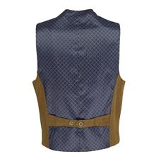 Smit Mode vest gilet-124001 in het Camel