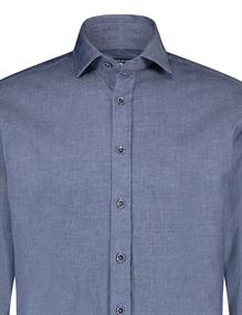 State of Art casual overhemd 21120261 in het Kobalt