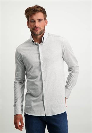 State of Art casual overhemd 21121182 in het Zilver