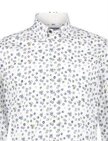 State of Art casual overhemd 21411201 in het Kobalt