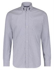 State of Art casual overhemd 21420206 in het Kobalt
