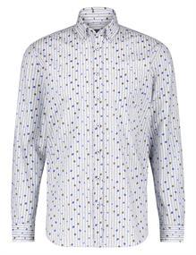 State of Art casual overhemd 21420231 in het Kobalt