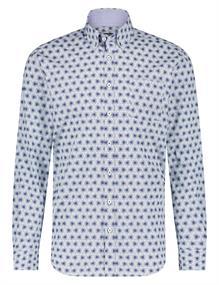 State of Art casual overhemd 21420238 in het Kobalt