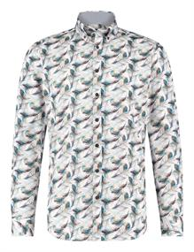 State of Art casual overhemd 21420302 in het Blauw