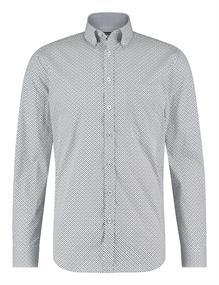 State of Art casual overhemd 21420328 in het Kobalt