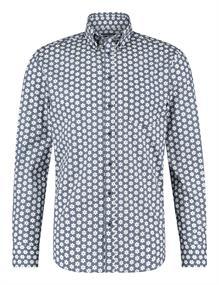 State of Art casual overhemd 21420335 in het Kobalt