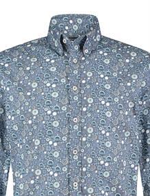 State of Art casual overhemd 21420336 in het Blauw