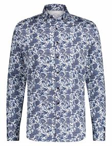 State of Art casual overhemd 21420711 in het Kobalt