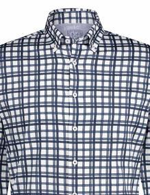 State of Art casual overhemd 21420712 in het Kobalt