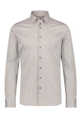 State of Art casual overhemd 21421736 in het Wit