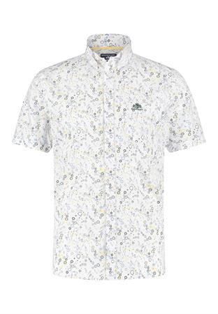 State of Art casual overhemd 26411283 in het Donker Groen