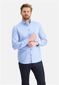 State of Art casual overhemd Regular Fit 21111356 in het Aqua