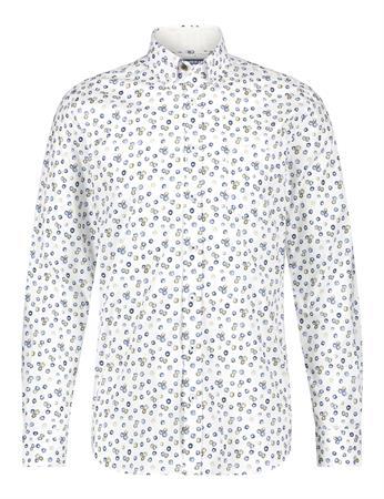 State of Art casual overhemd Regular Fit 21411201 in het Kobalt
