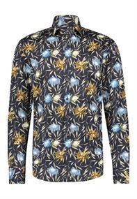 State of Art casual overhemd Regular Fit 21411202 in het Donker Blauw