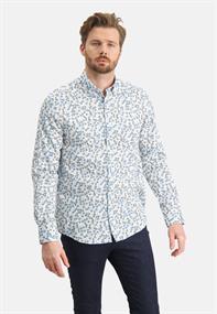 State of Art casual overhemd Regular Fit 21411210 in het Beige