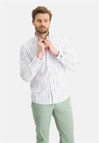 State of Art casual overhemd Regular Fit 21411253 in het Groen