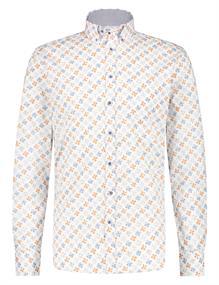 State of Art casual overhemd Regular Fit 21411278 in het Oranje