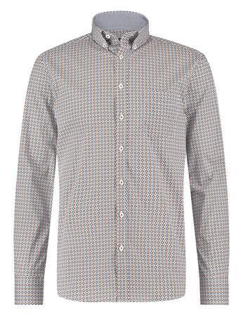 State of Art casual overhemd Regular Fit 21411279 in het Oranje