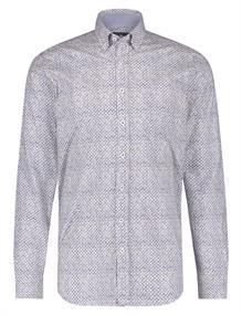 State of Art casual overhemd Regular Fit 21420200 in het Kobalt