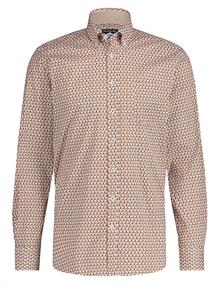 State of Art casual overhemd Regular Fit 21420215 in het Geel