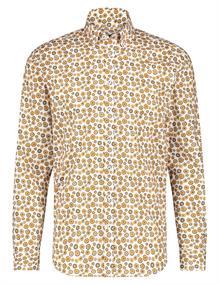 State of Art casual overhemd Regular Fit 21420250 in het Donker Bruin