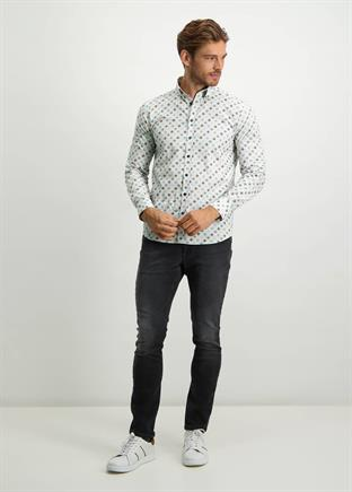 State of Art casual overhemd Regular Fit 21421157 in het Denim