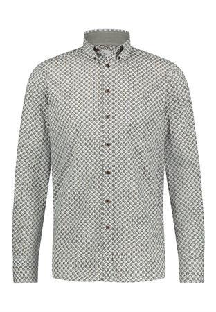 State of Art casual overhemd Regular Fit 21421193 in het Donker Blauw