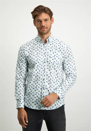 State of Art casual overhemd Regular Fit 21421212 in het Denim