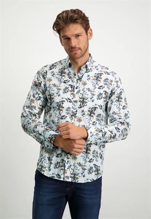 State of Art casual overhemd Regular Fit 21421227 in het Groen