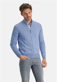 State of Art gebreid vest Regular Fit 16111140 in het Blauw