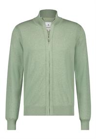 State of Art gebreid vest Regular Fit 16111140 in het Groen