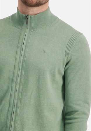 State of Art gebreid vest Regular Fit 16111140 in het Groen