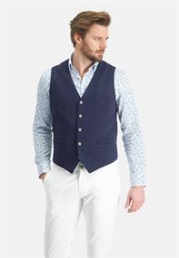 State of Art gilet Regular Fit 70111811 in het Marine