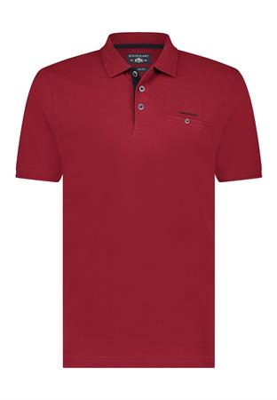 State of Art polo's Regular Fit 46111599 in het Rood