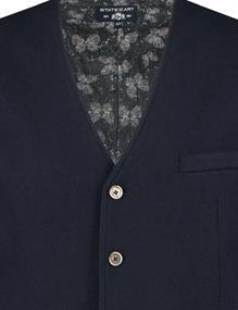 State of Art vest 70120548 in het Donker Blauw