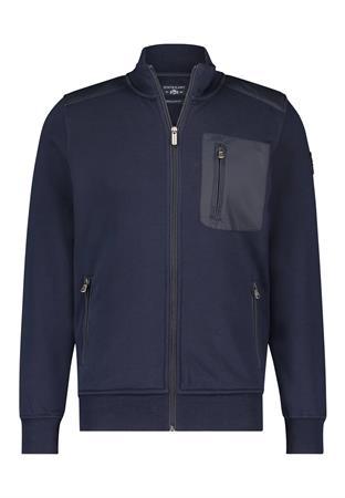 State of Art vest Regular Fit 56111600 in het Donker Blauw