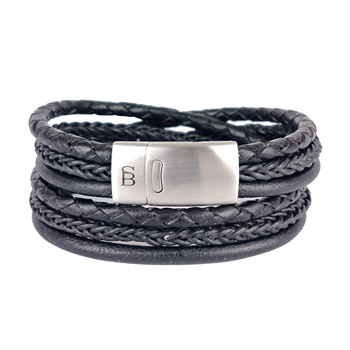 Steel & Barnett sieraden Bonacci. in het Zwart