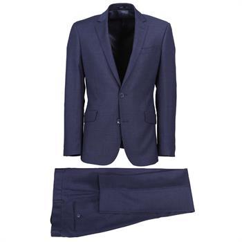 Steven van Vliet kostuum 20081-9547 in het Blauw