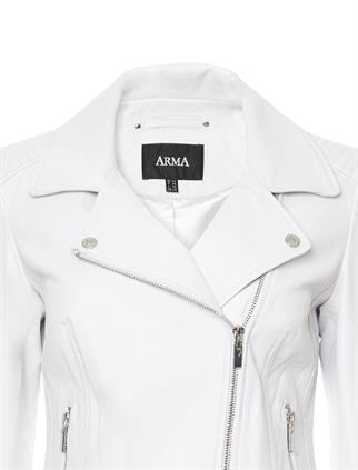 Studio AR by Arma leren blazer 016L211104.01 in het Offwhite