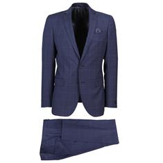 Studio Milano kostuum Slim Fit S07301 in het Marine