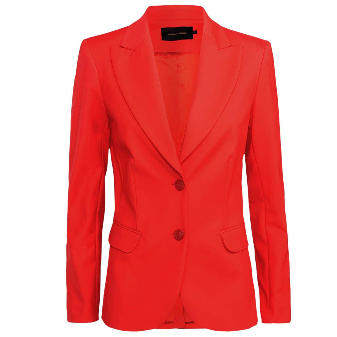 Smit Mode:  Summum blazer 1s954 10955 in het Rood