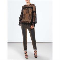 Summum blouse 2s2079-10681 in het Zwart