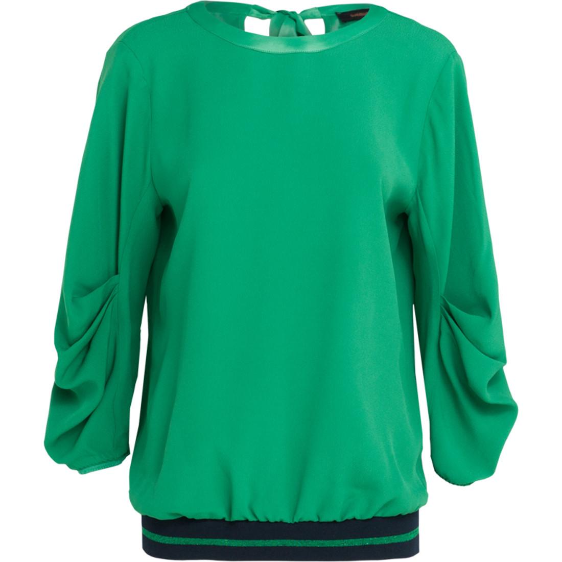 Summum blouse 2s2126-10635 in het Army