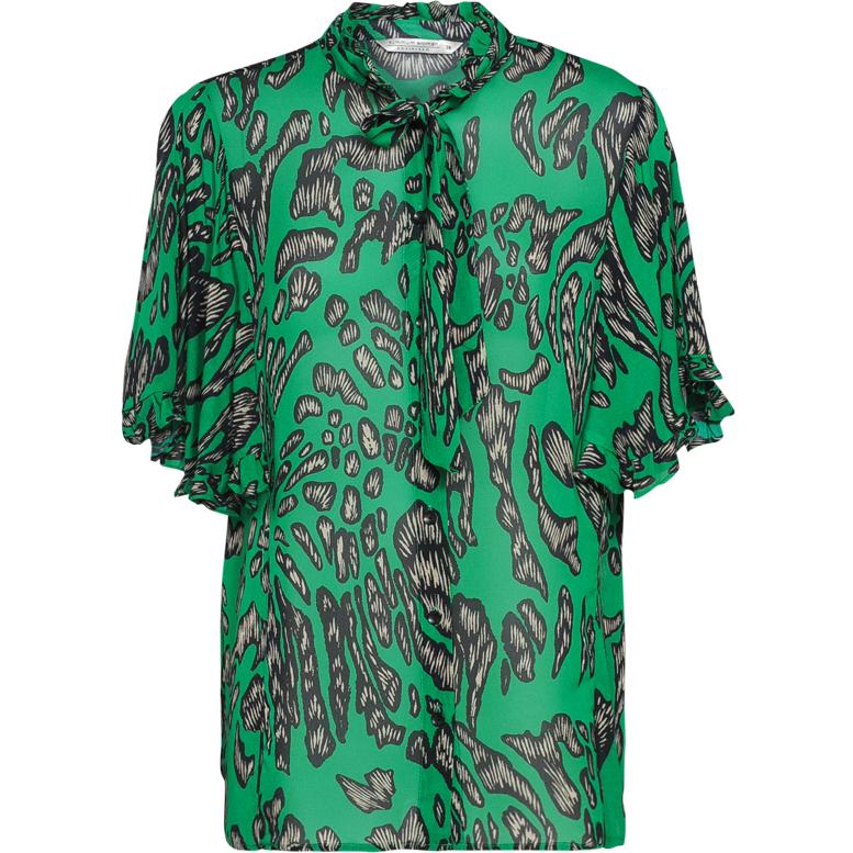 Smit Mode Summum blouse 2s2168 10807 in het Mint Groen