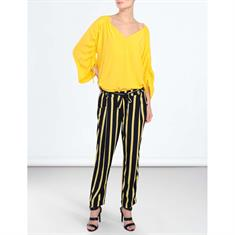 Summum blouse 2s2180-10788 in het Geel