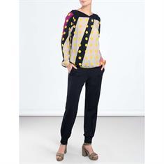 Summum blouse 2s2220-10793 in het Wit/Blauw