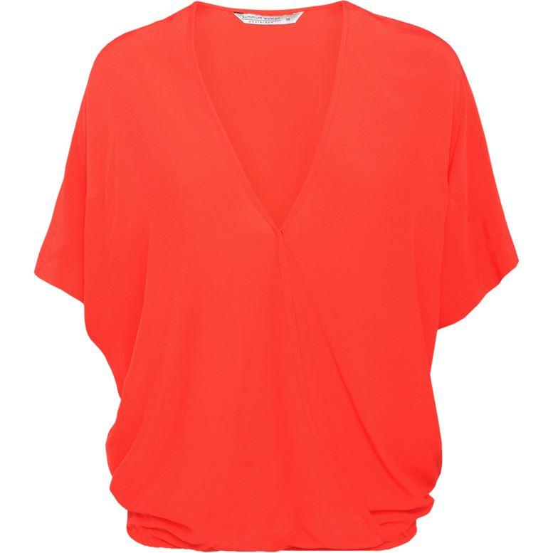 Smit Mode: Summum blouse 2s2273 10891 in het Rood