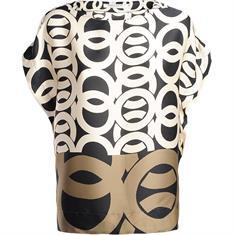 Summum blouse 2s2386-11106 in het Wit/Blauw